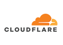 Logo of Cloudflare, a company using Midori apps