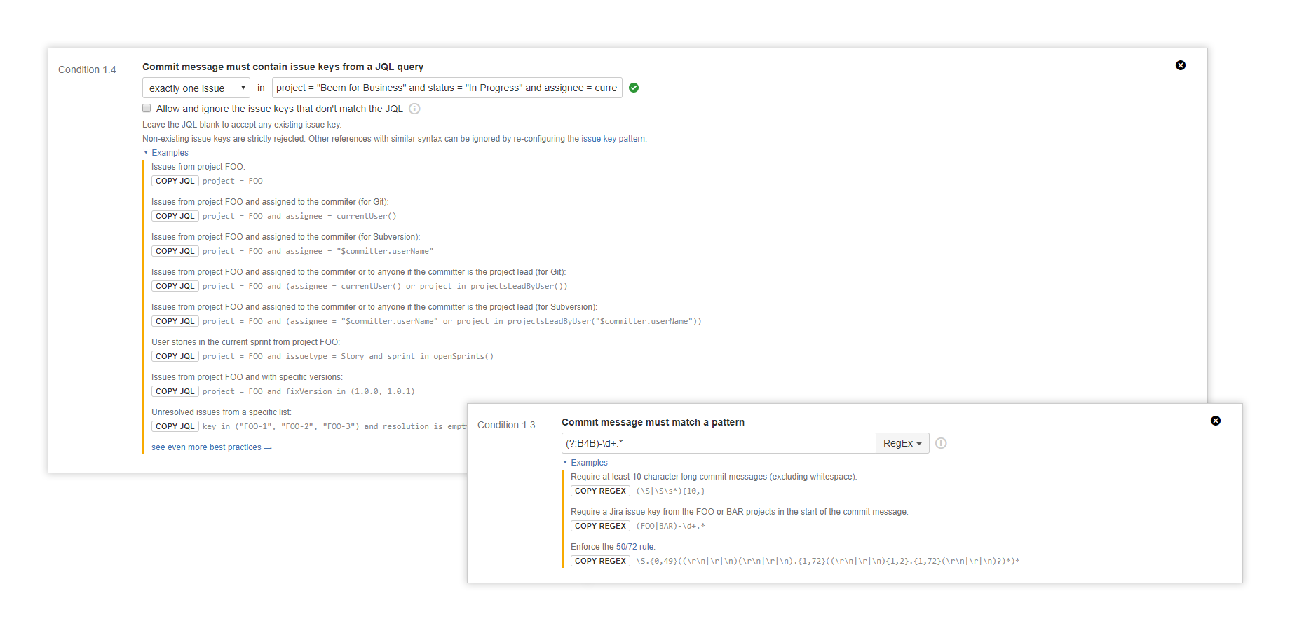 Better Commit Policy for Jira | Midori
