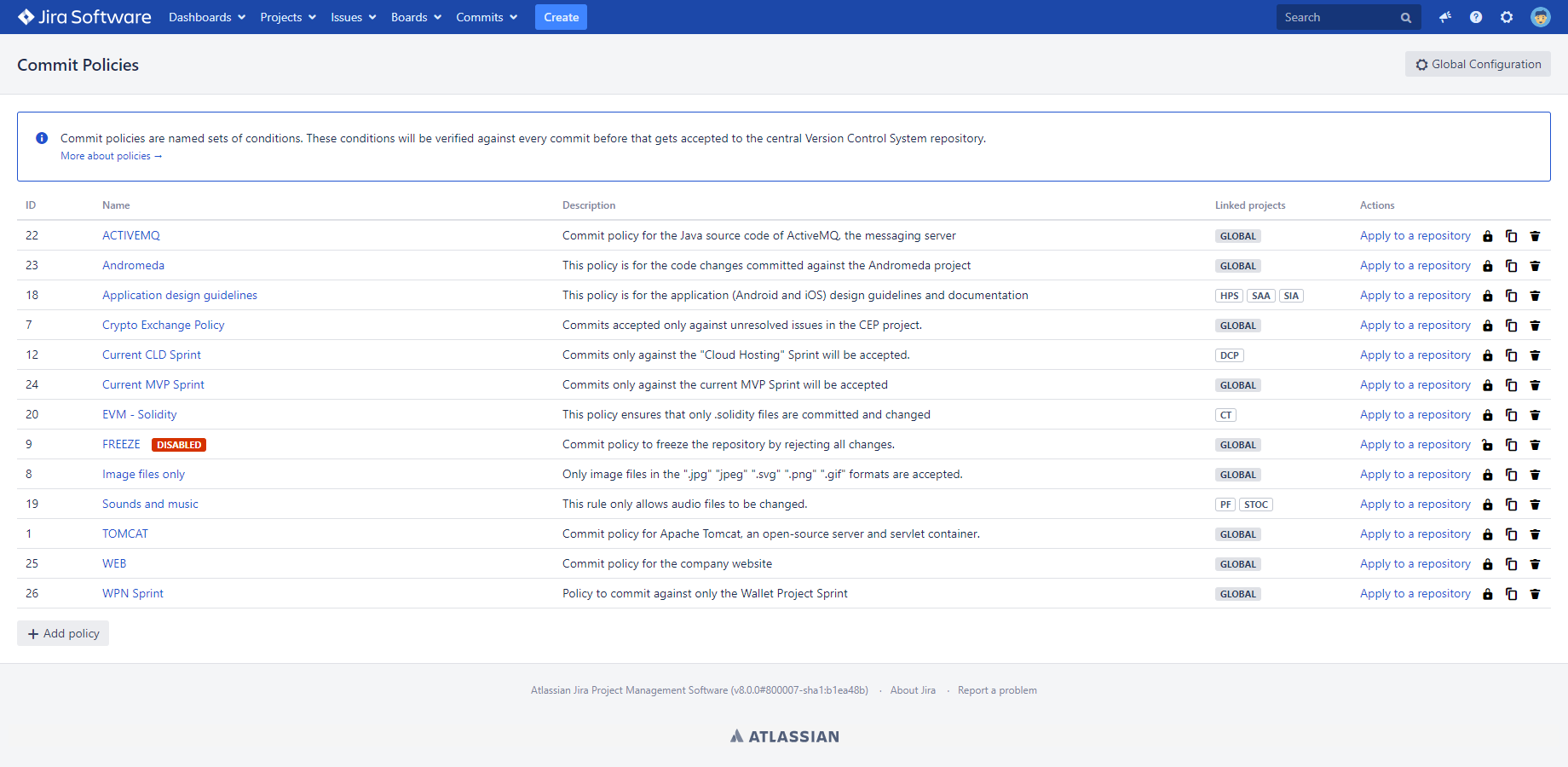 User Manual - Better Commit Policy for Jira | Midori