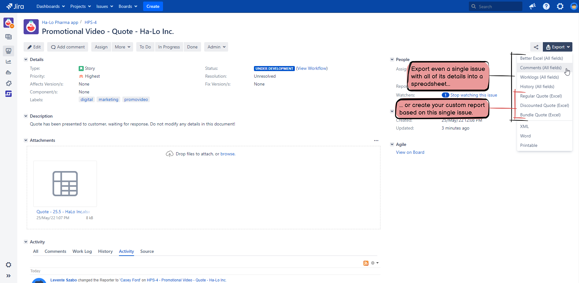 User Manual - Better Excel Exporter for Jira | Midori